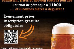 17 juillet fête de la bière* de la classe en 2 : fréquence Montmerle ain sera diffusée toute la journée