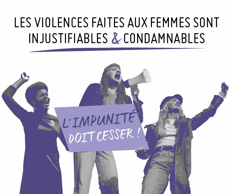 Le 25 novembre, journée internationale de lutte contre les violences sexistes et sexuelles