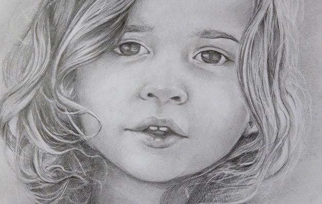 Nouveau portrait aux crayons