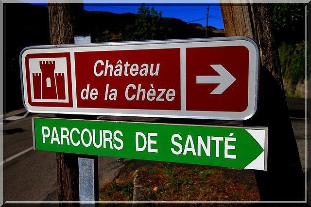 Diaporama château La Chèze - Le Cheylard