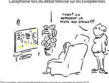 Cacophonie lors du débat télévisé sur les Européennes