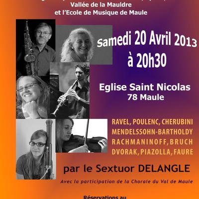 Concert à Maule...