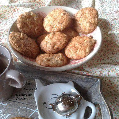 Palets à la farine complète et abricots secs