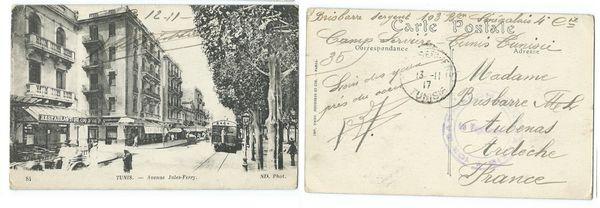 C comme Cartes postales de 1917