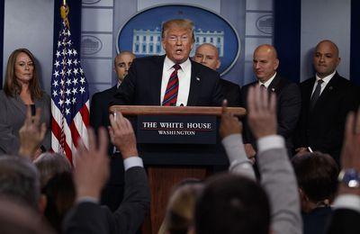 """Trump : """"Les hauts gradés du Pentagone...ne veulent rien faire d'autre que de se battre dans des guerres afin que toutes ces formidables compagnies qui fabriquent des bombes et des avions et tout le reste soient satisfaites"""" (Vidéo)"""