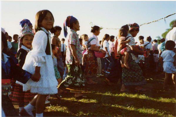 Un séjour en Guyane en 1987....