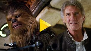 Han Solo et Chewbacca de retour dans Star Wars 7 !  Video