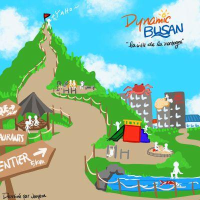 Busan, la ville de la montagne, pas que de la mer
