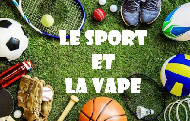 La vape et le sport