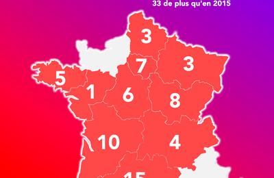 Régionales 2021 : le PCF obtient 62 élus et sera présent dans dix régions