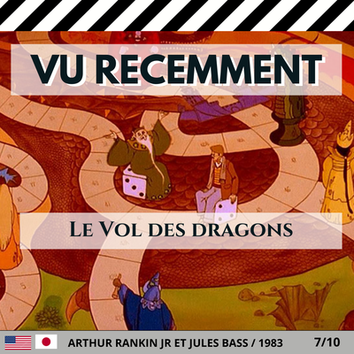 """Le Vol des dragons"" de Arthur Rankin Jr et Jules Bass (1983)"
