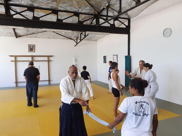 Stage d'aikido en images