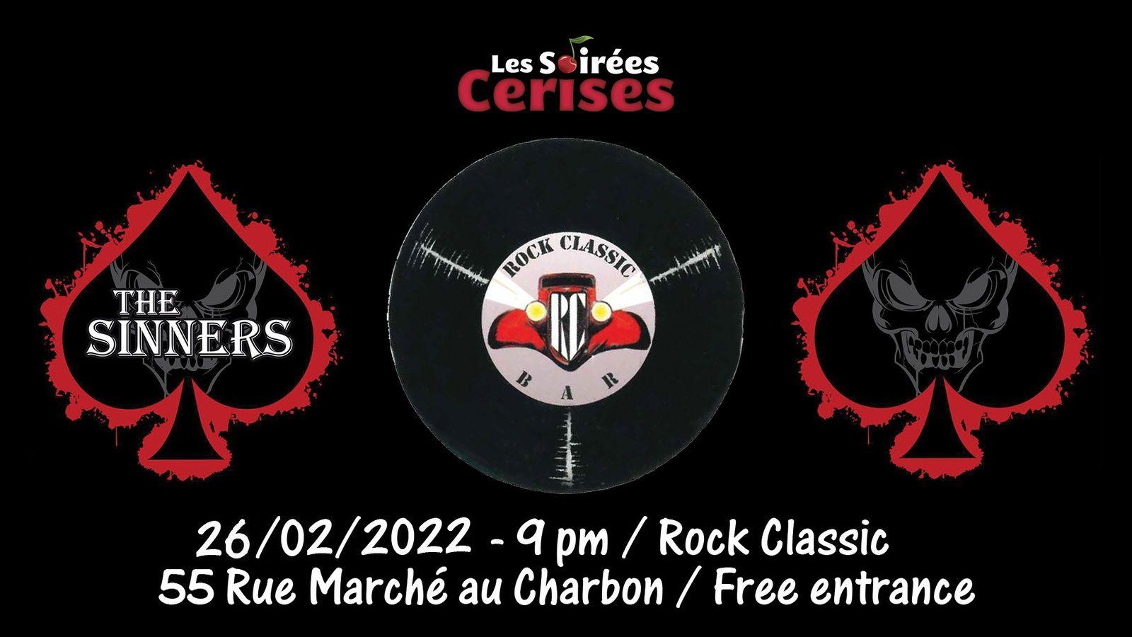 🎵 The Sinners (F) @ Rock Classic - 26/02/2022