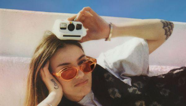 Polaroid Go campagne go create bernieshoot