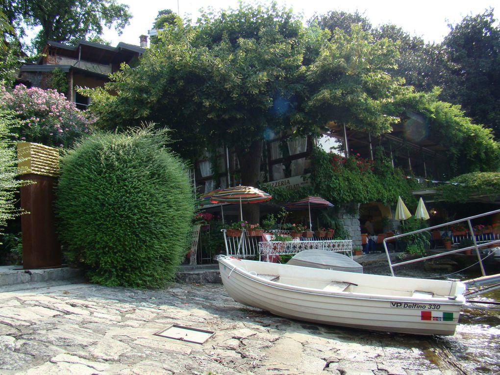 Bergame, Come, Lac majeur, Isola Bella, Isola Madre, Oliveto, Verone,