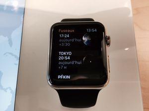 Premier contact avec l'Apple Watch ...