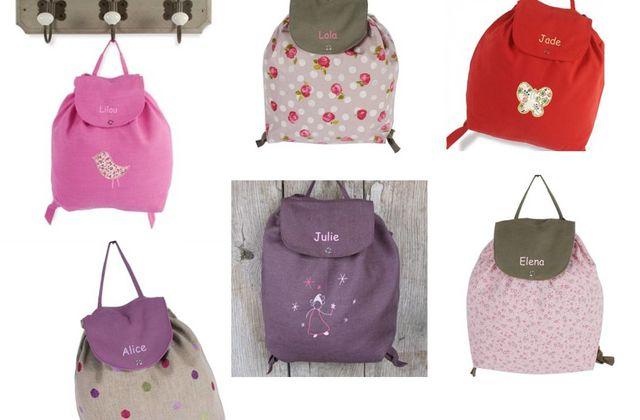 Un sac à dos personnalisé, une chouette idée de cadeau, non ?! {Balade en Roulotte}