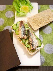 Panini aux sardines