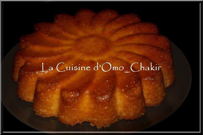 Gâteau fondant à l'orange miam miam