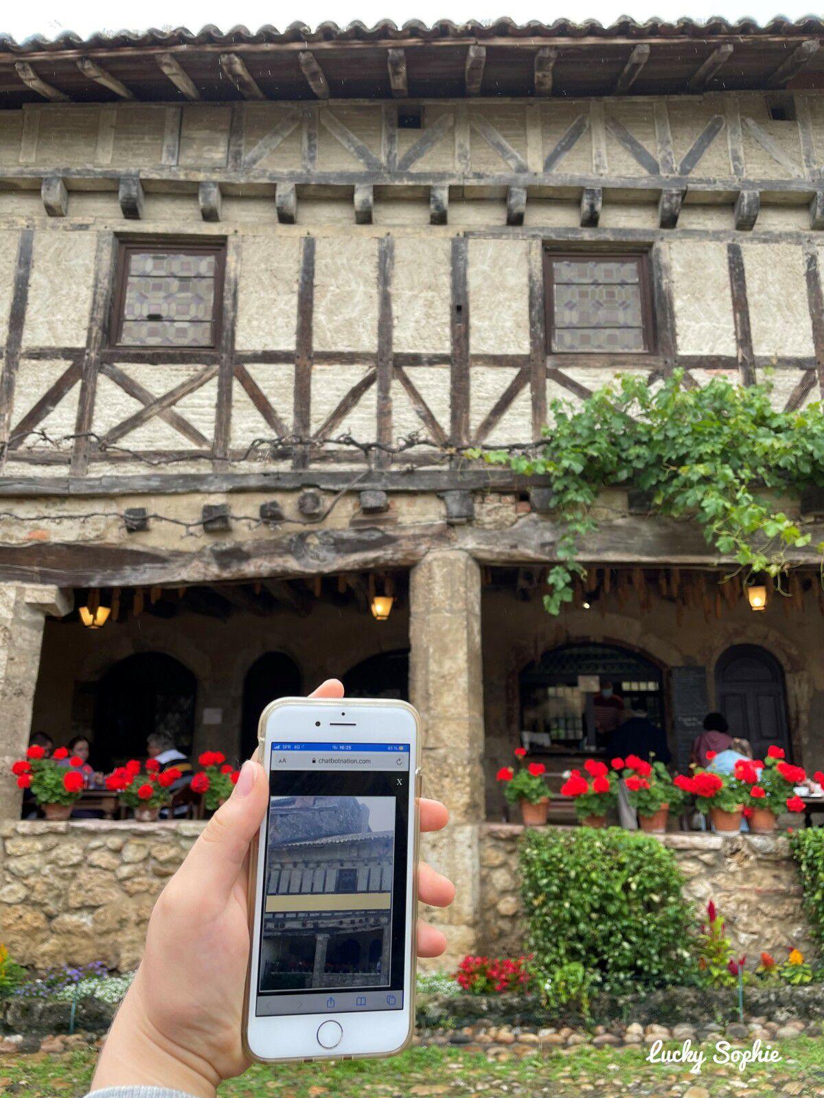 Balade mystère à Pérouges, jeu de piste digital