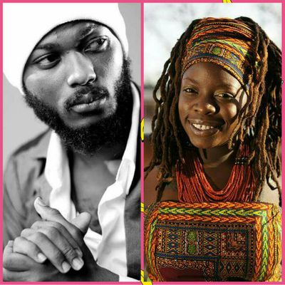 """E-NEWS::IWAN Collaborates With Kenya's and Holland Based Roots Female Artist Black Omolo on a Song Titled """"WE ARE GODS""""//www.gbaagamusic.com"""