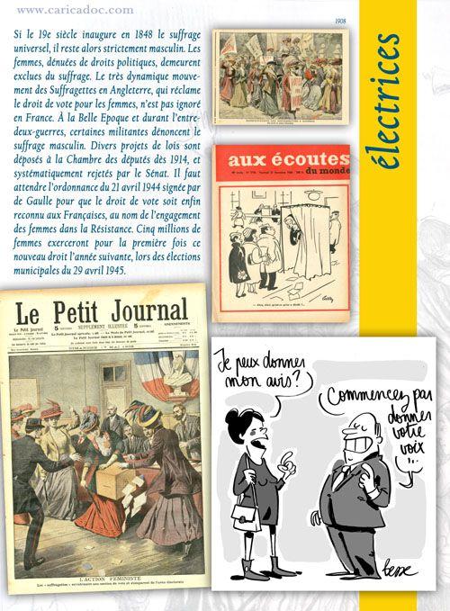 """""""LES DROITS DES FEMMES, de Daumier à nos jours"""" : une exposition itinérante à imprimer"""