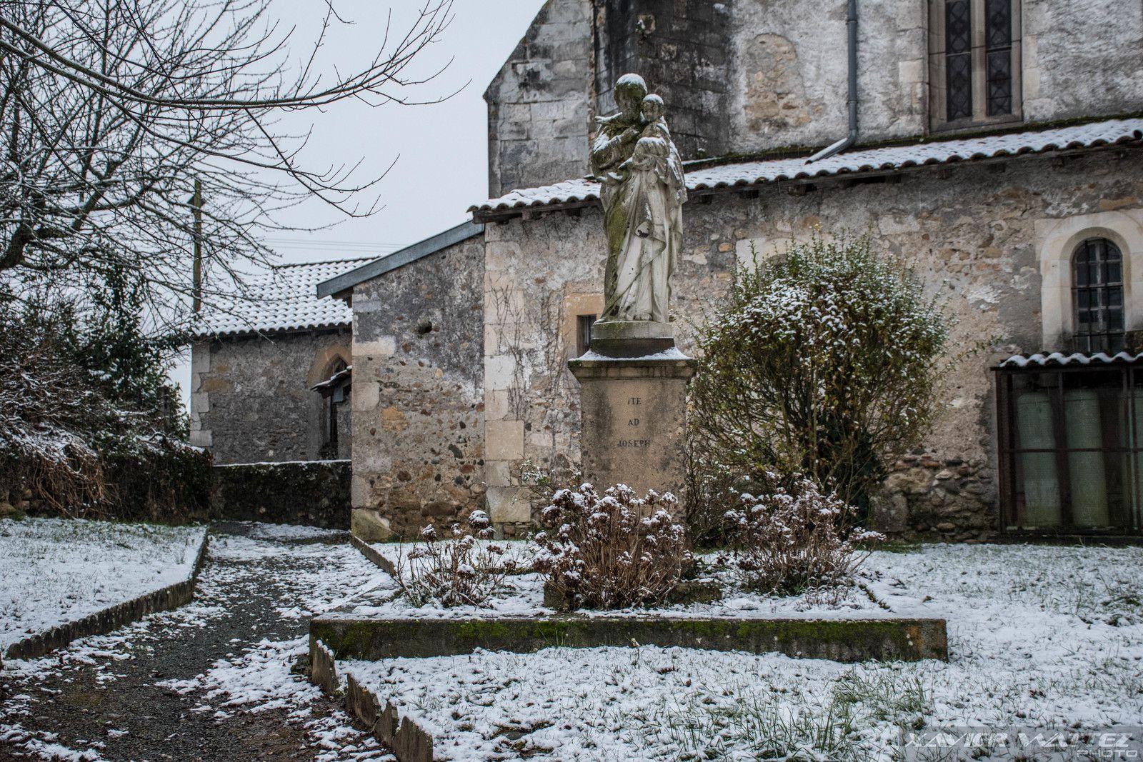 De la neige à Cassagne