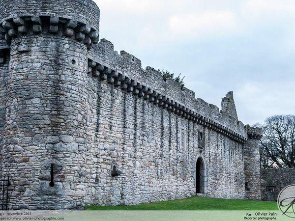 Un chateau en Ecosse.