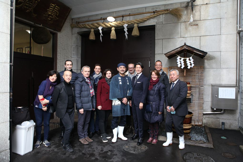 A la brasserie Fukumitsu-ya. (Photos IB)