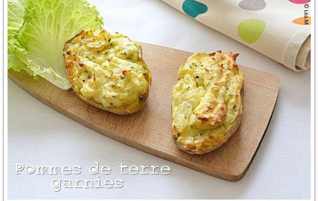 Pommes de terre garnies
