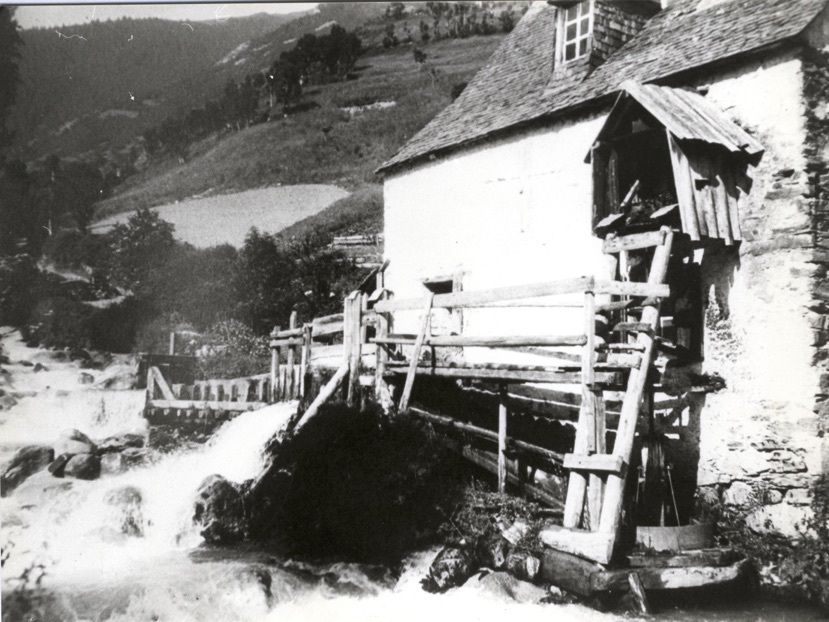 Vielha au début du XX° siècle