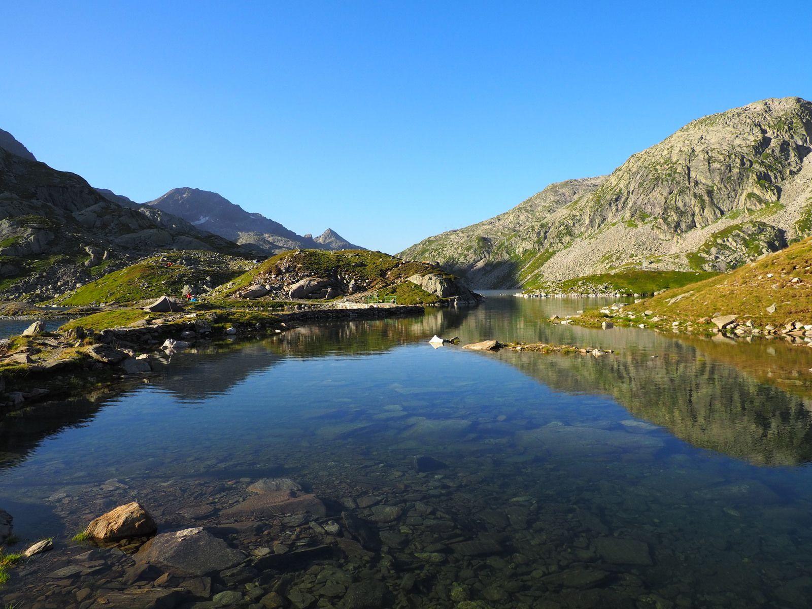 Lac Cottepens, Carré et de la Motte.