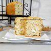 Cake courgette, poulet et chèvre d'après Caroline Pessin