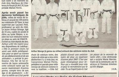 ceinture noire d'arthur (2007)