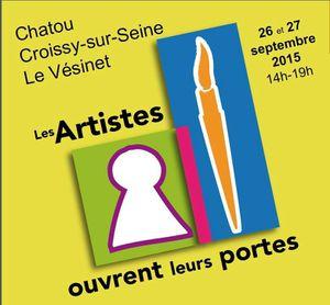 Samedi 26 et dimanche 27 septembre : les ateliers de peintures sont ouverts