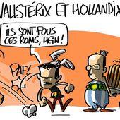 Humour Roms: Emmanuel Valls chez Asterix