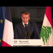 """Une """"révolution colorée"""" à Beyrouth ? L'Elysée à la manoeuvre... par Jean LEVY - Ça n'empêche pas Nicolas"""