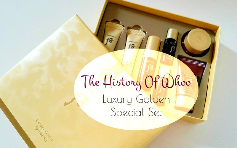 Découverte ~ The History Of Whoo ~ Luxury Golden Special Set