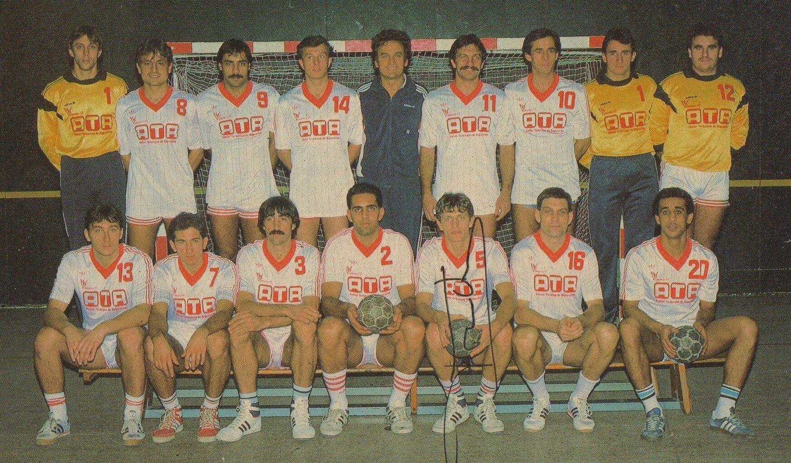 En 1992, le Handball Vénissieux 85 obtenait le titre de champion de France - Photo : © VHB