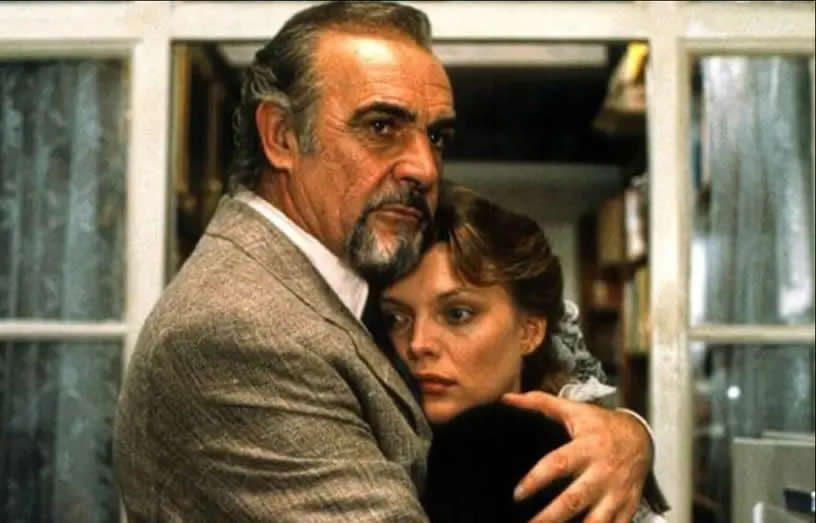Sean Connery et Michelle Pfeiffer dans « La maison Russie » (1990). — MGM
