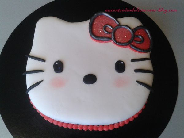 Gâteau à la vanille.