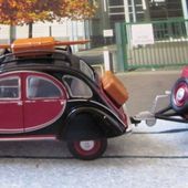 LES CITROEN 2CV BERLINES - LC2CVB - car-collector