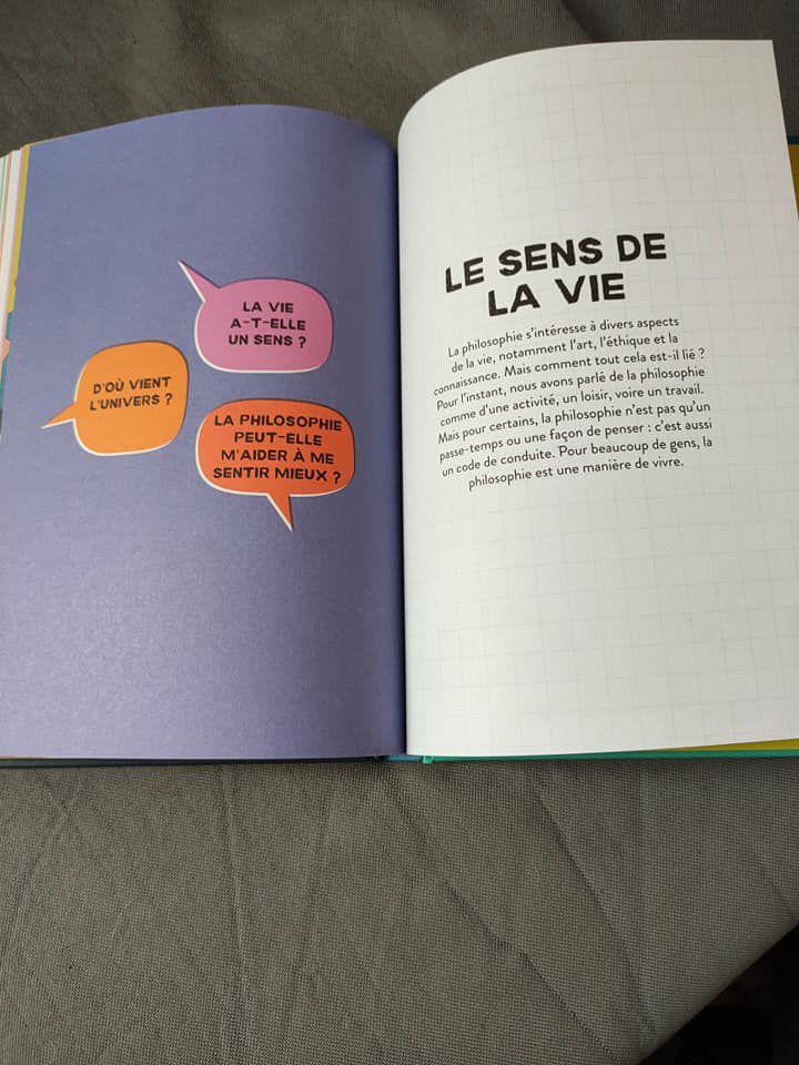 Editions Usborne livre philosophie enfants