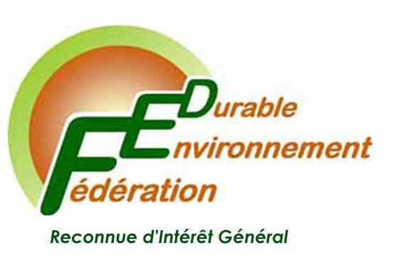 Communiqué de la FED (Fédération Environnement Durable)