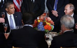 Reuters - Obama, Putin discuss Syria; essential difference over Assad remains