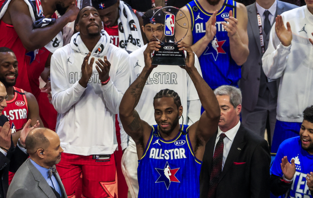 La Team LeBron remporte le All-Star Game 2020, Kawhi Leonard élu MVP
