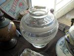Vase boule art déco cristal DAUM à vendre