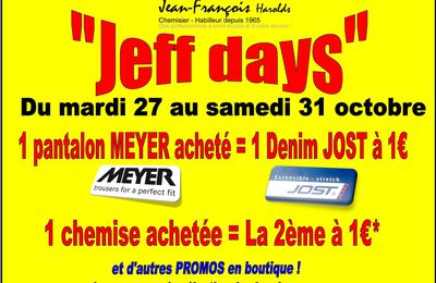 "Les ""JEFF DAYS"""