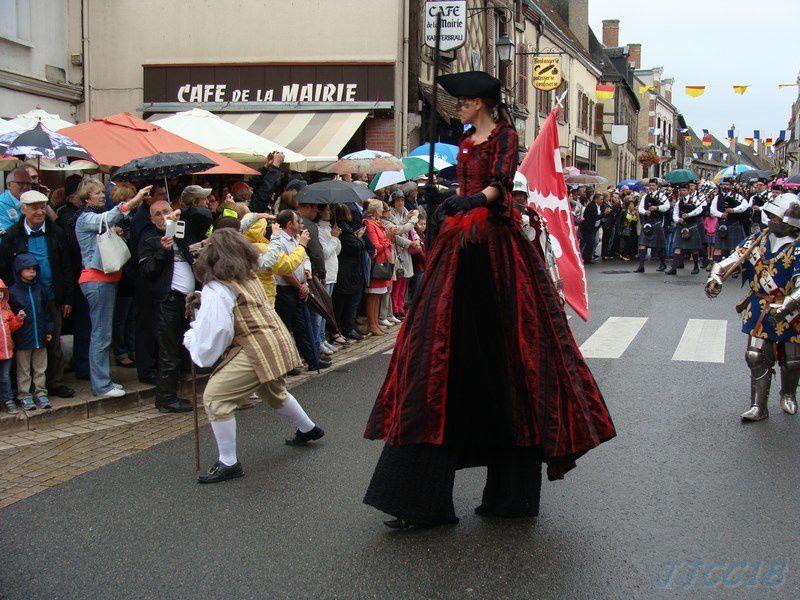 25 ème fêtes franco-écossaises à Aubigny sur Nère