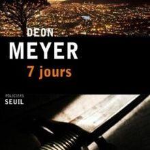 7 Jours de Deon Meyer: il était une fois une énigme
